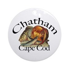 """Chatham"" Keepsake/Round Ornament"