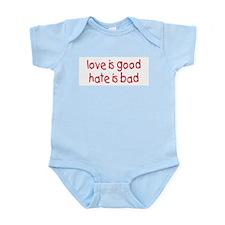 Love & Hate Infant Creeper