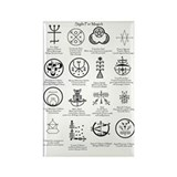 Rectangle Magnet (10 pack): Magic SIGILS: Occult T