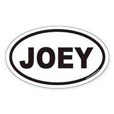 JOEY Euro Oval Decal