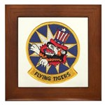 Flying Tigers Framed Tile