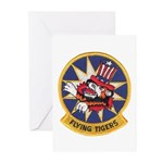 Flying Tigers Greeting Cards (Pk of 20)