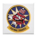 Flying Tigers Tile Coaster
