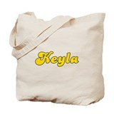 Retro Keyla (Gold) Tote Bag