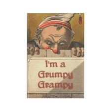 Grumpy Grampy Rectangle Magnet (10 pack)