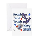 Anchor Sailor Grandma Greeting Card