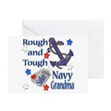 Anchor Sailor Grandma Greeting Cards (Pk of 10)