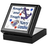 Anchor Sailor Grandma Keepsake Box