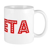 Retro Goleta (Red) Mug