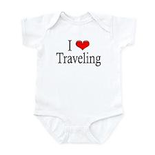 I Heart Traveling Infant Creeper