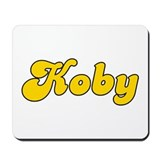 Retro Koby (Gold) Mousepad