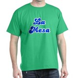 Retro La Mesa (Blue) T-Shirt