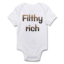 CW Filthy Rich Infant Bodysuit