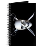 Pirate Skull Flag Journal