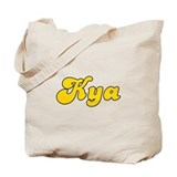 Retro Kya (Gold) Tote Bag