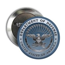 "D.O.D. Emblem 2.25"" Button (100 pack)"