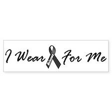 I Wear Black For Me 1 Bumper Sticker (10 pk)