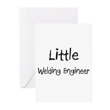 Little Welding Engineer Greeting Cards (Pk of 10)