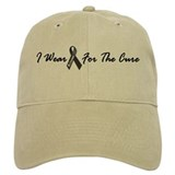 I Wear Black For The Cure 1 Baseball Cap