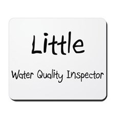 Little Water Quality Inspector Mousepad