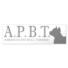 apbt stickers Bumper Bumper Sticker