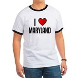 I LOVE MARYLAND T