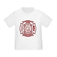 Firefighter Maltese Cross T