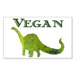 VEGAN Rectangle Sticker 50 pk)