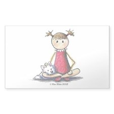 Kit & Kaboodle Rectangle Sticker 50 pk)