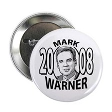 "Mark Warner For President 2008 2.25"" Button (10 pa"