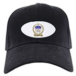 BELIVEAU Family Crest Black Cap