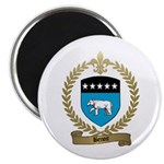 BENOIT Family Crest Magnet
