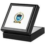 BENOIT Family Crest Keepsake Box