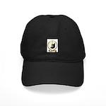 BONNEAU Family Crest Black Cap