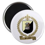BONNEAU Family Crest Magnet