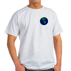 Blue-Green Earth Light T-Shirt