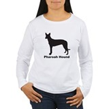 PHAROAH HOUND Womens Long Sleeve T-Shirt