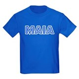 Retro Maia (Blue) T