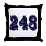 248 Throw Pillow