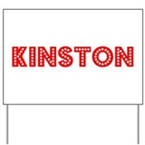 Retro Kinston (Red) Yard Sign