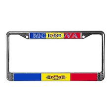 Moldova Moldovan Flag License Plate Frame