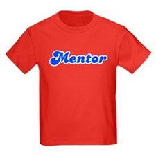 Retro Mentor (Blue) T