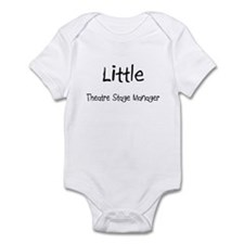 Little Theatre Stage Manager Infant Bodysuit