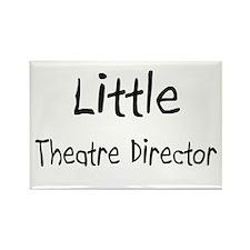 Little Theatre Director Rectangle Magnet