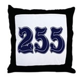 255 Throw Pillow