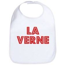 Retro La Verne (Red) Bib