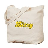 Retro Litzy (Gold) Tote Bag