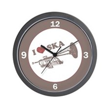 I Love Ska Wall Clock