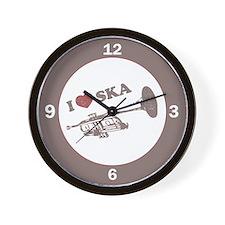 I Love Ska Wall Clock