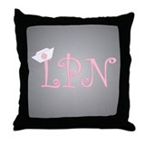 LPN Throw Pillow